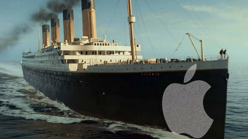 Apple y el Titanic