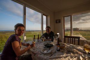 Disfrutando de la hospitalidad Islandesa