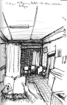 Sketchbook E 8 - St. Johns, Antigua