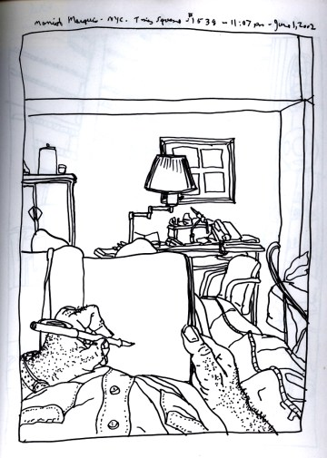 Sketchbook R 6 - Marriot Marquis, NYC, NY