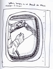 Sketchbook S 22 - Airplane - Reflection in window airplane