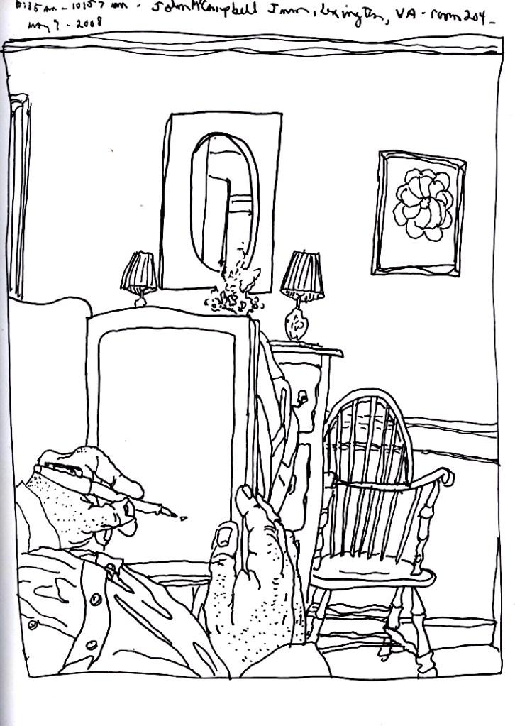 Sketchbook T 12 - Lexington, VA