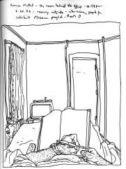 Sketchbook T 3 - Roscoe Motel, Roscoe, New York