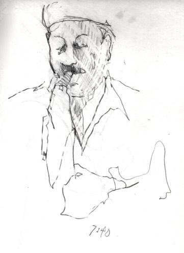 Sketchbooks B 14 - Jazz Club - Miami, FL