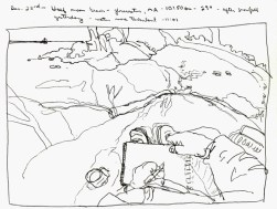 Sketchbooks M 1 - Half Moon Beach, Gloucester, MA