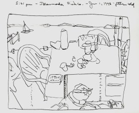 Sketchbooks M 4 - Islamorada Fish Co - Islamorada, FL