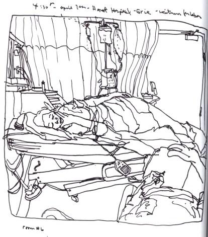 Sketchbooks K 46 - Hamot Hospital - Erie, PA