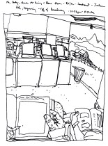 Sketchbooks R 32 - Laundromat - Jackson Hole, WY