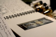 Installation Image - Sketchbooks and Watercolor 5