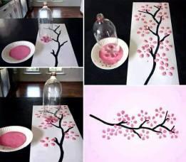 Pintura con botella