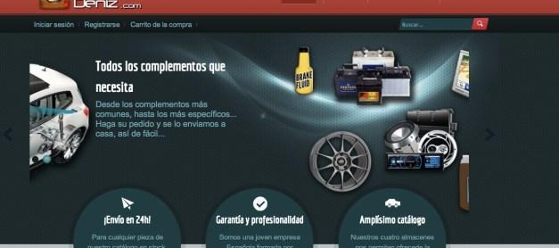 Tienda online de recambios para coches
