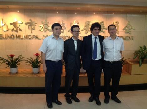 Con gli amici della Commissione Turismo di Pechino