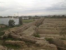 L'acquedotto romano a Cartagine