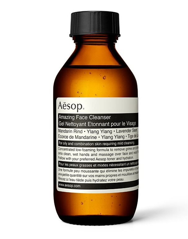 mens skincare routine aesop cleanser