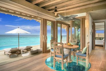 soneva fushi water retreat