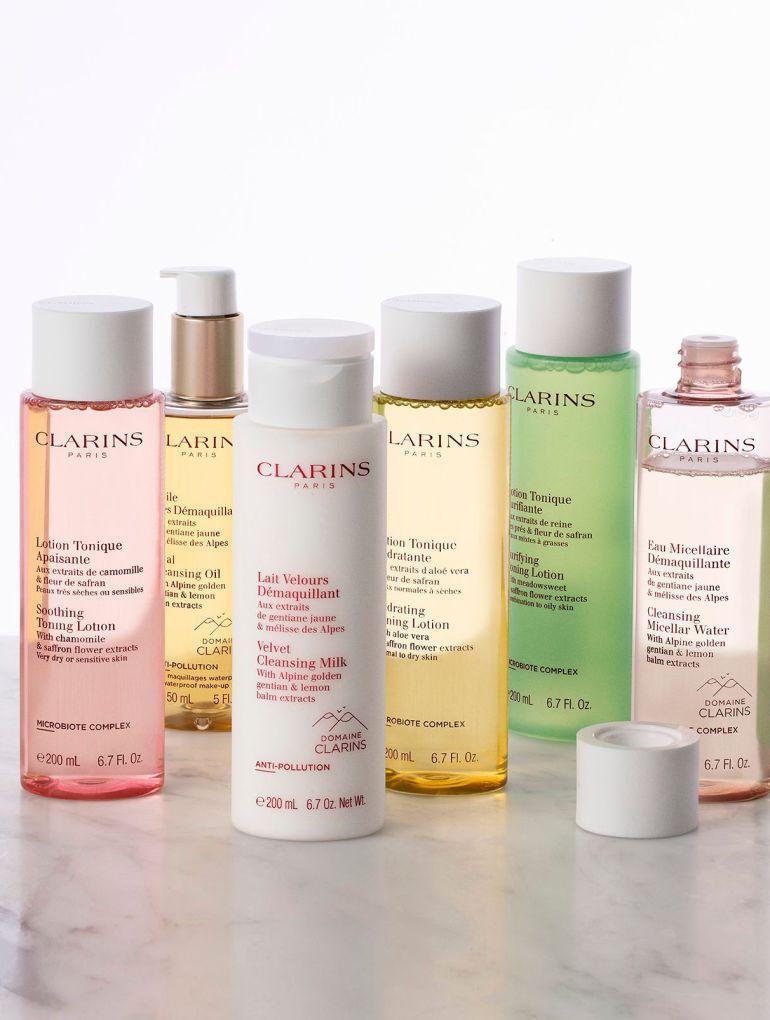 Clarins toner cleanser