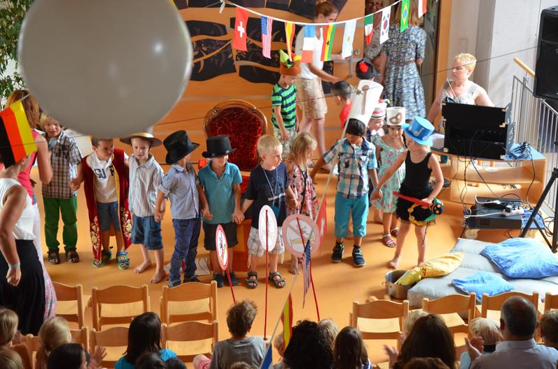 Abschiedsfest Kinder-Schulkinder