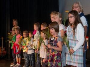 Bensheim, Variete Pegasus, Verleihung des Karl-Kuebel-Preises, Kita Albertus Bensheim, Doro Plutte, , Bild: Thomas Neu