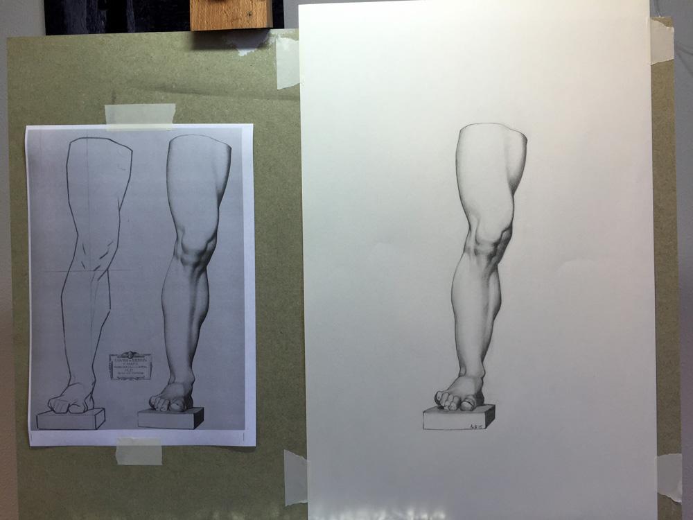 Charles Bargue tekenmethode