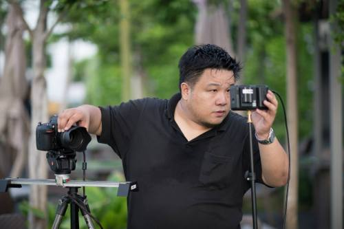 Albert Yap Filming with D810 & Atomos Ninja Blade