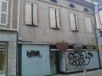 rue séré de rivières fonds de commerce vide albi centre-ville