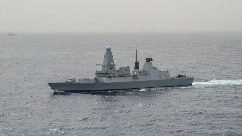 """سفينة """"دنكن"""" البريطانية تصل  الخليج"""