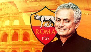 مورينيو مدربا لفريق روما
