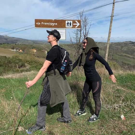 Via Francigena Hike