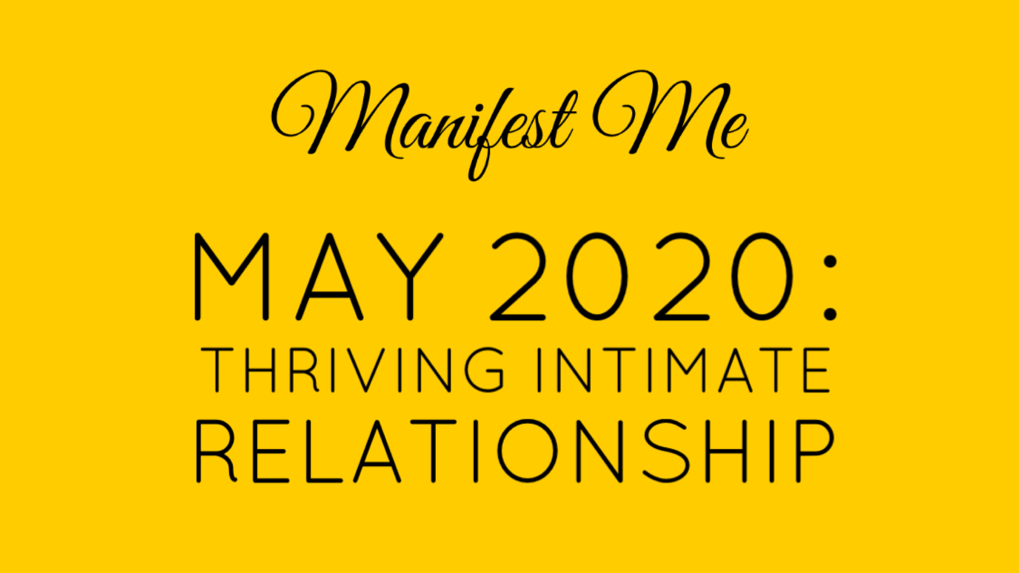 Thriving Intimate Relationship