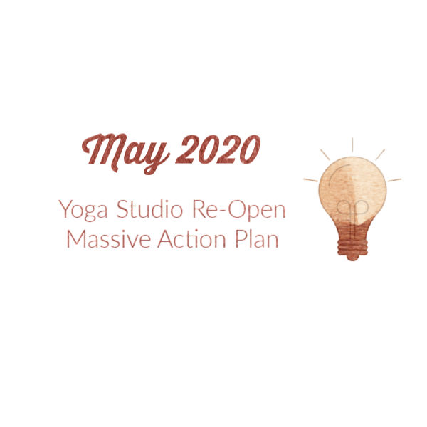 Yoga Studio Re-Open Plan