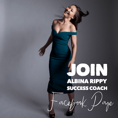 Join Albina Rippy, Success Coach Facebook Page
