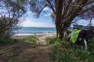 break time on Tas east coast