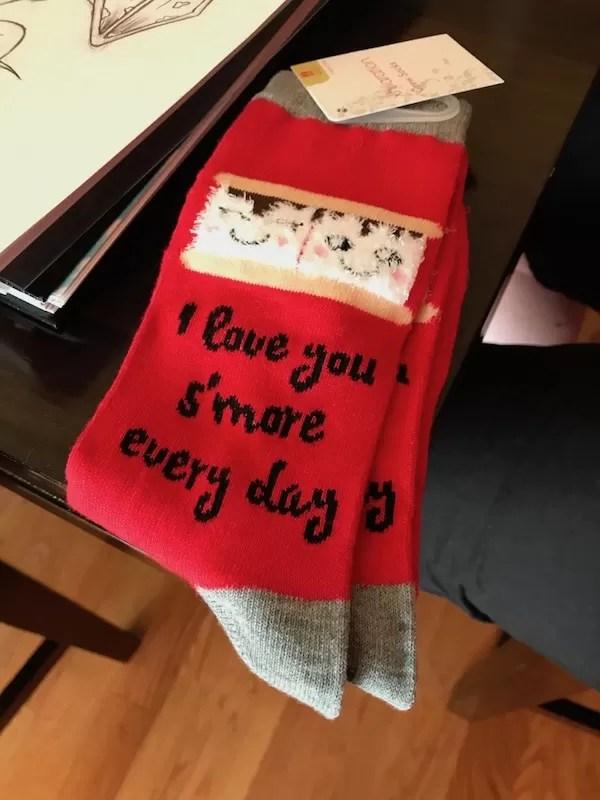 Some cute socks Kougie got me