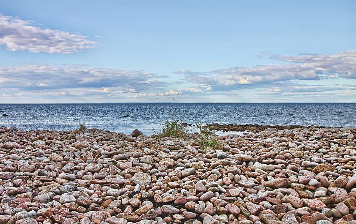 Sommar Termin Strng Vatten Sverige Natur HAV Albinssons