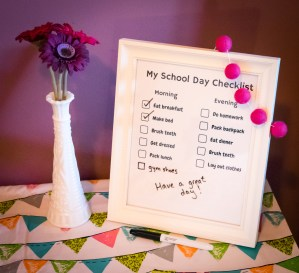 School Day Checklist