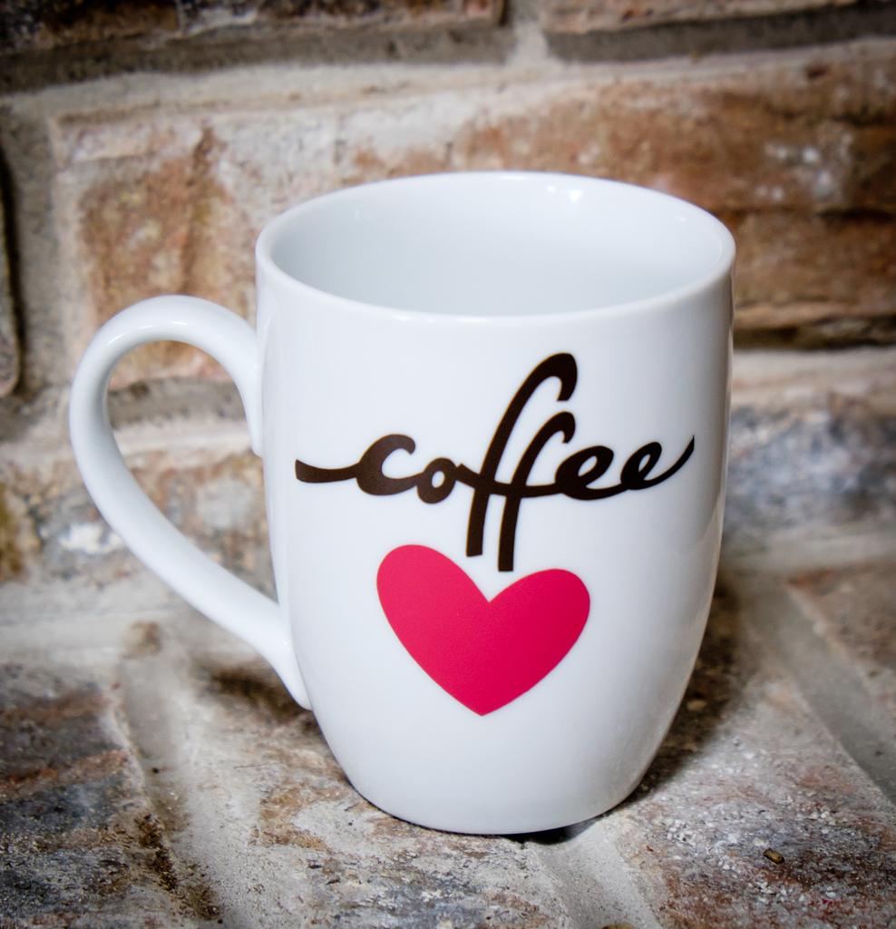 coffee love mug diy albion gould. Black Bedroom Furniture Sets. Home Design Ideas