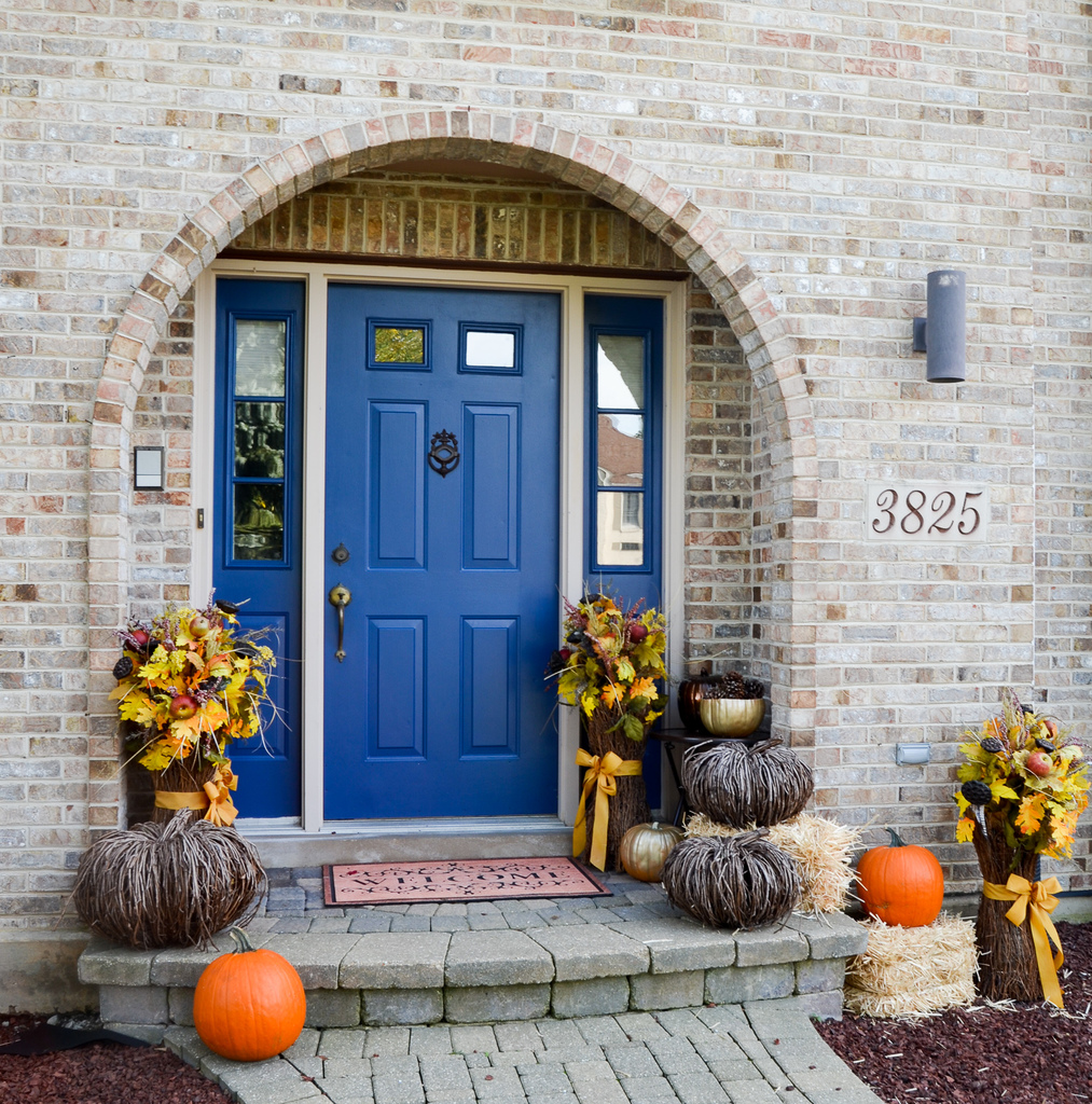 Fall Front Door: Fall Front Door Decor