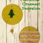 Cork Trivet Christmas Ornament Decorations