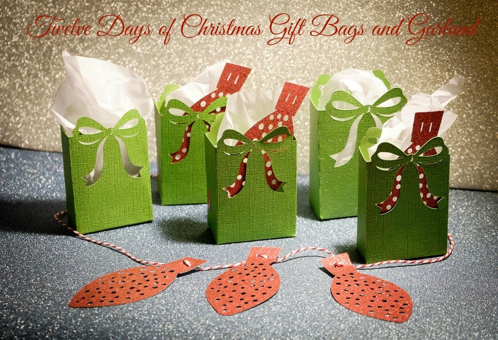 Twelve Days of Christmas Gift Bags and Garland