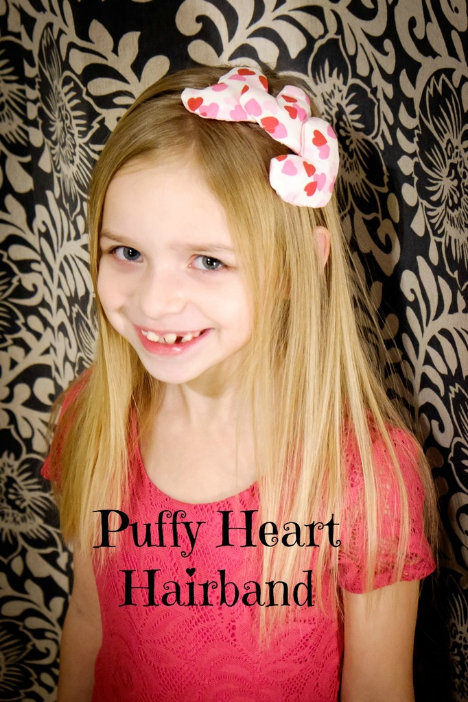 Puffy Heart Hairband