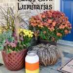 Candy Corn Luminarias
