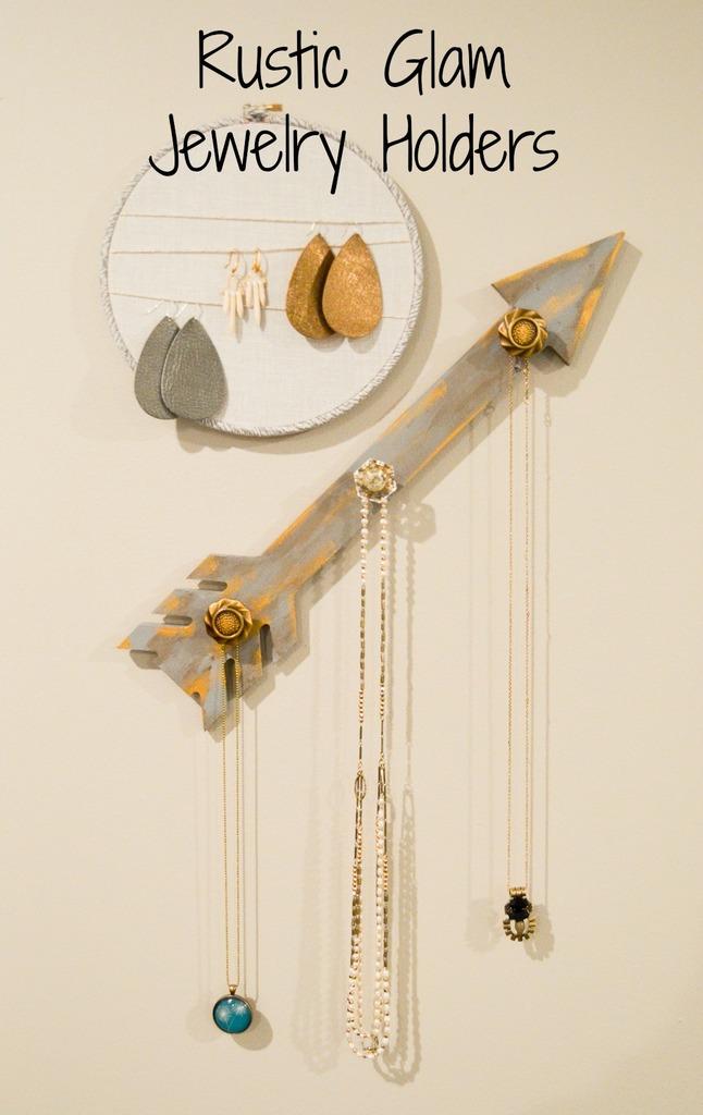 Rustic Glam Jewelry Holders