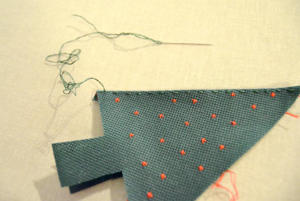 stitch together