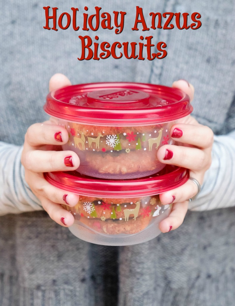 Holiday Anzus Biscuits