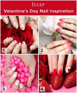 Valentine's Day Nail Art from Julep