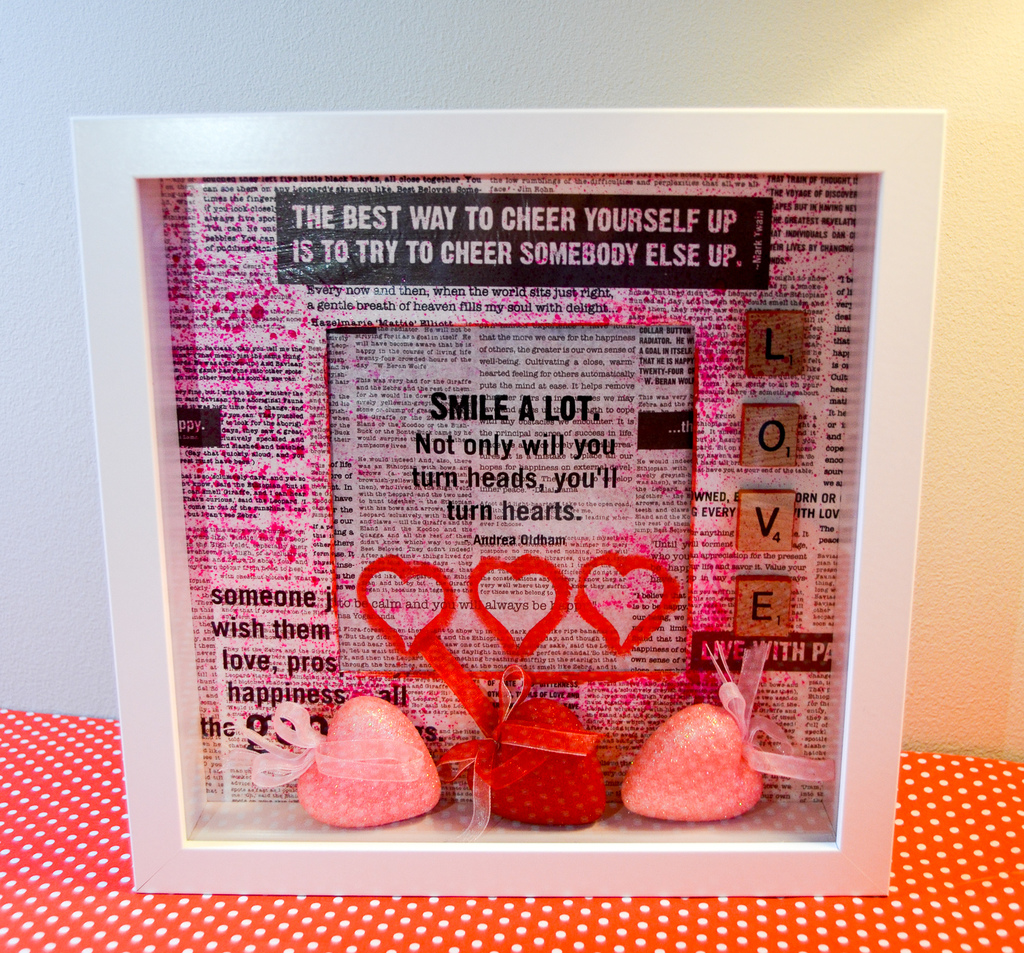 Valentine's Day Shadowbox