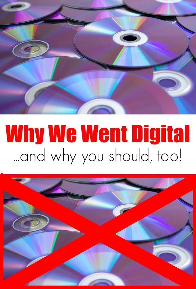 Why We Went Digital...and why you should, too!