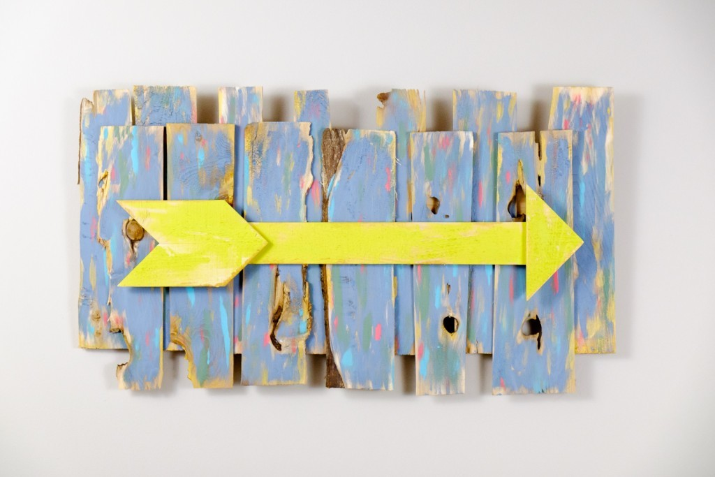 Rustic Wooden Arrow Wall Art