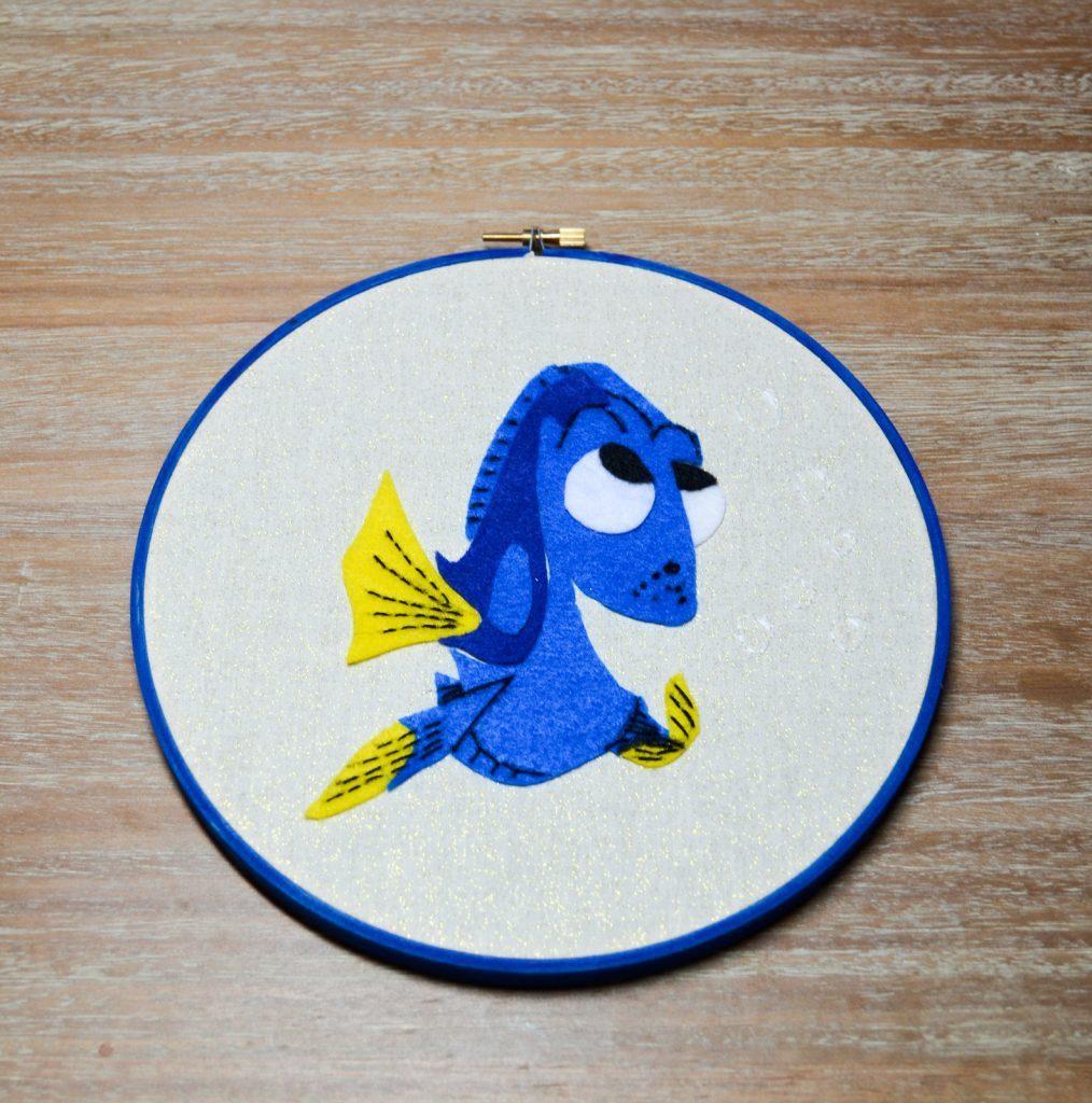 Finding Dory Hoop Art
