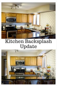 Kitchen Backsplash Update